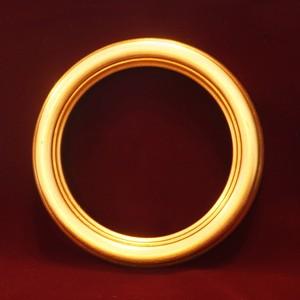 【円形額】 ゴールド 14cm直径