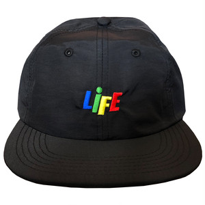 CANDY LOGO NYLON BALL CAP / LIFEdsgn
