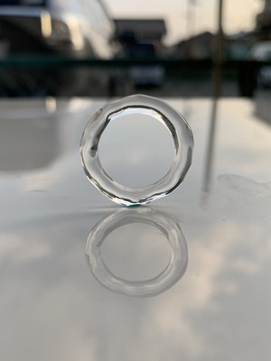ガラスリング(凹凸)