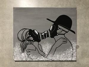SAFE KISS キャンバス アクリル