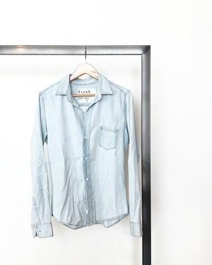 "frank&eileen/ ""barry"" indigo denim  shirt (classic blue indigo)"