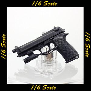 【00932】 1/6 ベレッタ M92F ハンドガン