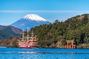 【30%OFF OPENING SALE!!】FANTASTIC FUJI & HAKONE 1 day Tour return by Bullet Train- Lunch Included