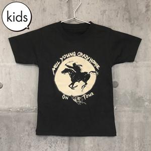 【送料無料 / ロック バンド Tシャツ】 NEIL YOUNG & CRAZY HORSE / Kids T-shirts L ニール・ヤング・アンド・クレイジー・ホース / キッズ Tシャツ L