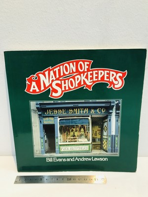 80's  A NATION OF SHOPKEEPERS  by Bill Evans and Lawson