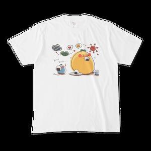 【Tシャツ】おにぎりとひよこっち