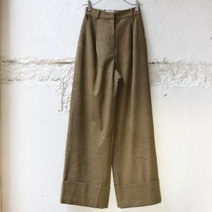 【KINDER SALMON】 Wide Pants