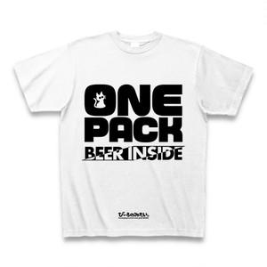 【色変更相談可能!】びーるのみT。『One Pack -Beer Inside-』