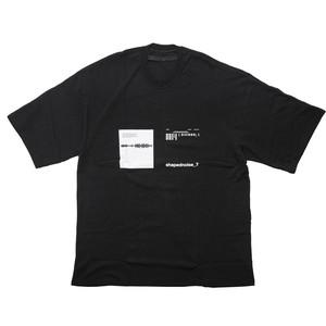 677CPM15-BLACK / SHAPEDNOISE ノイズTシャツ