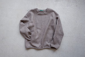 ohta brown pullover (brown / size:M1)