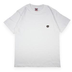 ヤマネコワッペン ポケット付(ホワイト)