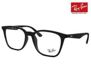 レイバン 眼鏡 メガネ Ray-Ban rx7177f 2000 51mm 黒縁 黒ぶち アラレちゃん RX 7177 F rb7177f スクエア ウェリントン