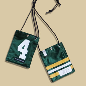 "Remake NFL Game shirts Mobile Pouch -""4""/ Green"