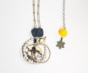 ネックレス「土星の輪」