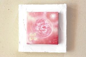 原画:mini絵画作品「地球色~月と地球と太陽と~」