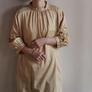 Select Item / Back Cross Shirt / #1 beige / バッククロス シャツ