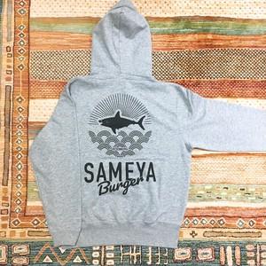 SAMEYAオリジナルパーカー(グレー)