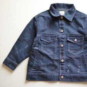 【KIDS】THE PARK SHOP LAZYBOY JEAN JKT /ハンドライティング Gジャン
