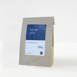 フェアトレードコーヒー【豆】 ニカラグア産 180g