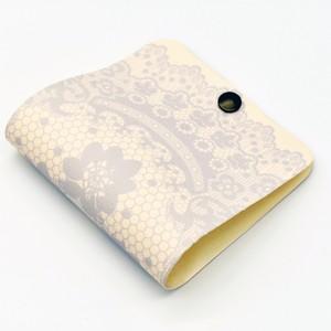 【通常サイズ】フルカラー印刷マスクケース・ロマンティックレース【送料込】【ストラップありなし選択可】Product ID:101-T019