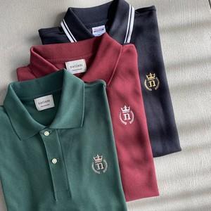 basic polo shirt【green】