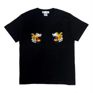 刺繍Tシャツ トラ