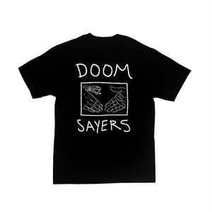 DOOM SAYERS - SNAKE SHAKE POCKET TEE (Black)
