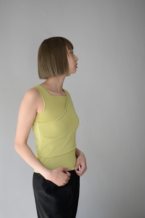 ROOM211 / Layered Tank (yellow)