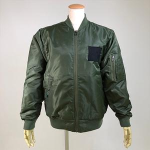 キルティングMA-1ジャケット/KHA/CMF24-J587