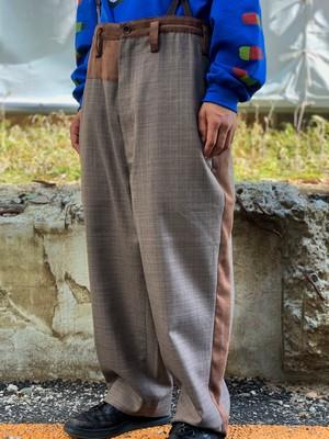 【HOMELESS TAILOR】ASIMETRY WIDE PANTS
