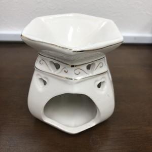陶器製アロマキャンドルポットA