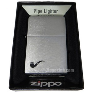 ジッポー・パイプライター / Zippo Pipe Lighter Brushed Chrome