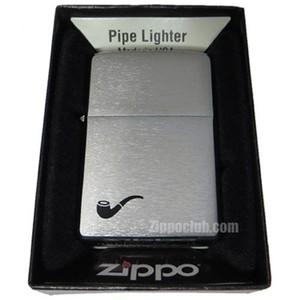 ジッポー・パイプライター / Zippo Pipe Lighter Brushed Chrome