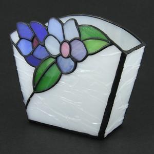 お花の小物入れステンドグラス