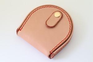 ヌメ革の馬蹄型コインケース 3