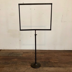Vintage Iron Sign Stand