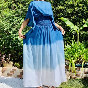 Aizome Dress # sea  side