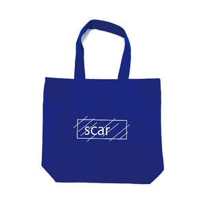 scar /////// OG LOGO TOTE BAG (Blue)