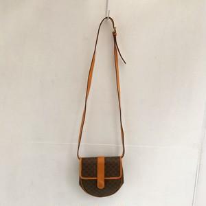 CELINE macadam mini shoulder bag