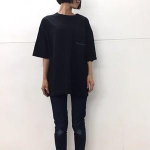 ビッグシルエットTシャツ ( ブラック )