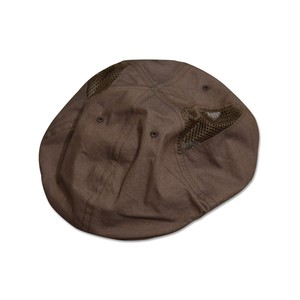 NOROLL / 6PANNEL SIDEMESH CASQUETTE -BROWN-