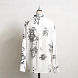 【cielkocka】ワンダラスシャツ(ブラック)