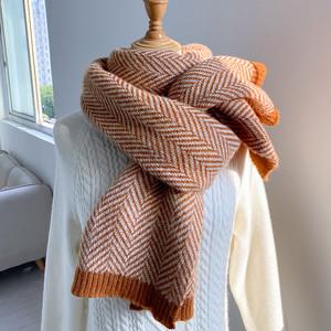 【ACC】秋冬シンプル清新キュート韓国ファッション日系マフラー25489723