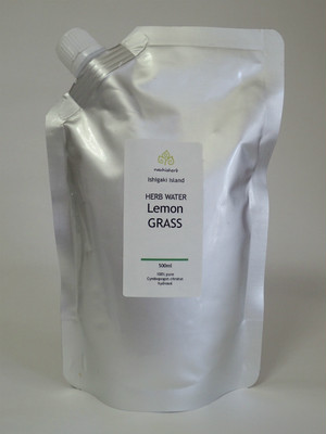石垣島産 レモングラス蒸留水 500ml アルミパウチ入り