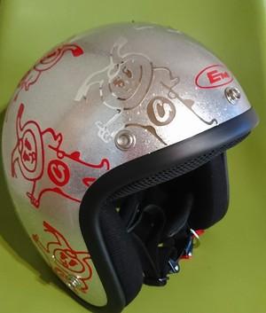 イーグルカブ一郎ジェットヘルメット