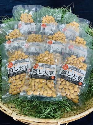 自然食*自然栽培の手作り蒸し大豆  10袋セット