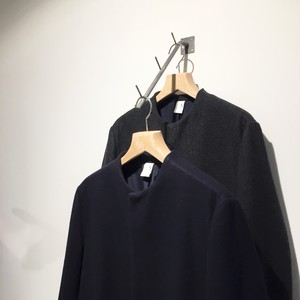 NO CONTROL AIR 【ノーコントロールエアー】 Super100's Wool melton fabric coat
