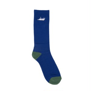 RIPNDIP - Castanza Socks (Navy / Hunter Green)