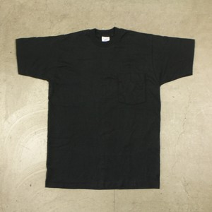 80-90's USA製 BVD Pocket T-Shirt Black