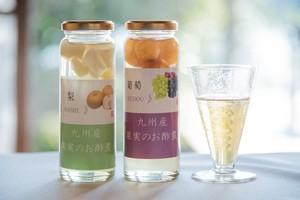 果実のお酢煮(梨/苺/葡萄/梅)